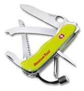 Victorinox RescueTool, yellow luminescent, in nylon-pouch # 0.8623:N