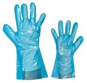 GOFOOD disposable gloves PE blue