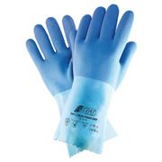 Blue Power Grip Chemikalienschutzhandschuh, Gr. 7-11