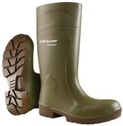 Dunlop FoodPro Purofort MultiGrip Safety with steel-toe cap green