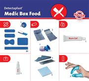 Detectaplast Refill-Pack for Medic Food Box for abattoirs # 90205
